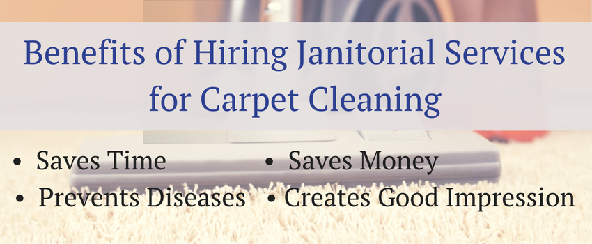 Hiring Janitorial Services for Carpet Cleaning